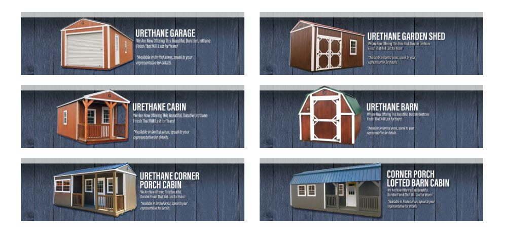Graceland Portable Buildings White Mountains, AZ Special January 2019 Inventory Blowout Sale