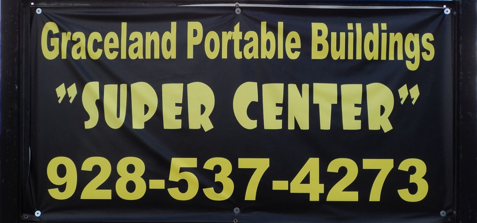 Graceland Portable Buildings Supercenter Show Low, AZ Biggest Inventory White Mountains, AZ Call for Pricing 928-537-4273