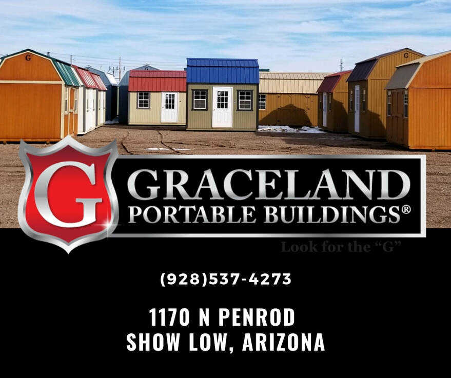 Welcome to Graceland Portable Buildings. We provide quality storage buildings as a solution for all your storage needs.