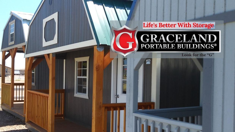 Graceland Sheds For Sale-Poratble Buildings, Cabins, Garages, and Lofted Barns